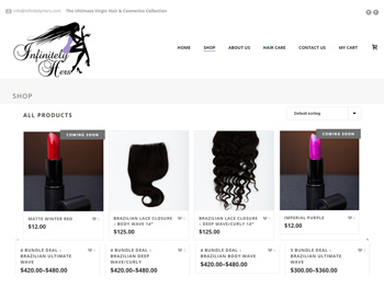 ECommerce Responsive Website